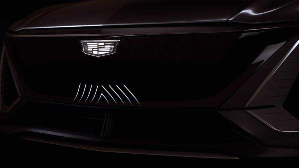 终于要加入电动车大战,CADILLAC纯电SUV Lyriq预告8月亮相