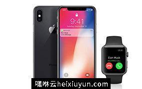 高品质的iPhoneX和Apple Watch展示模型Apple iPhone X mockups (PSD+AI) #2283739