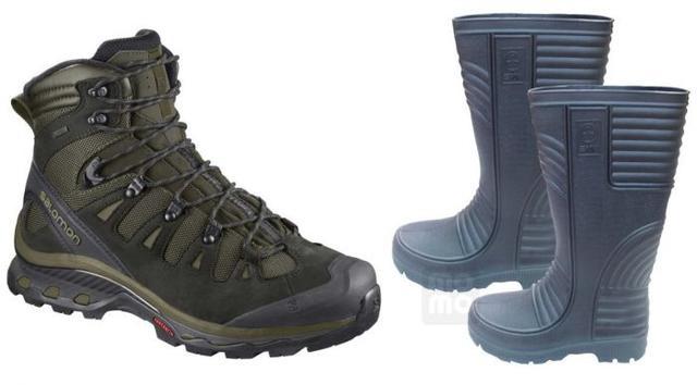 爬山究竟穿登山鞋好,还是穿雨鞋好?