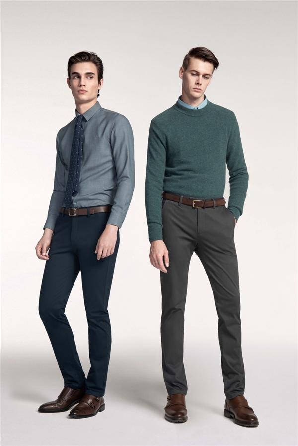 冬季衣橱换新,你需要一条修身又舒适的九牧王小黑裤