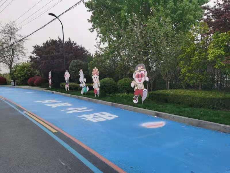 跑一场马拉松,识一座魅力城――淮安国际马拉松准备开跑
