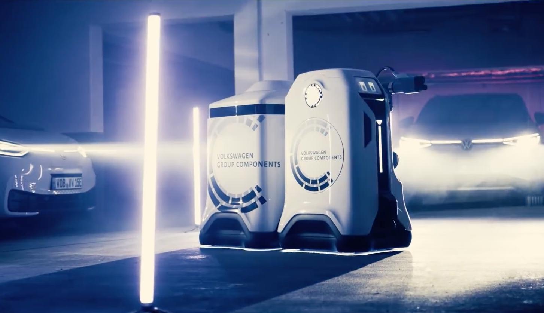 「汽车V报」现代发布KONA N预告图;大众移动充电机器人将量产落地-20201230-VDGER