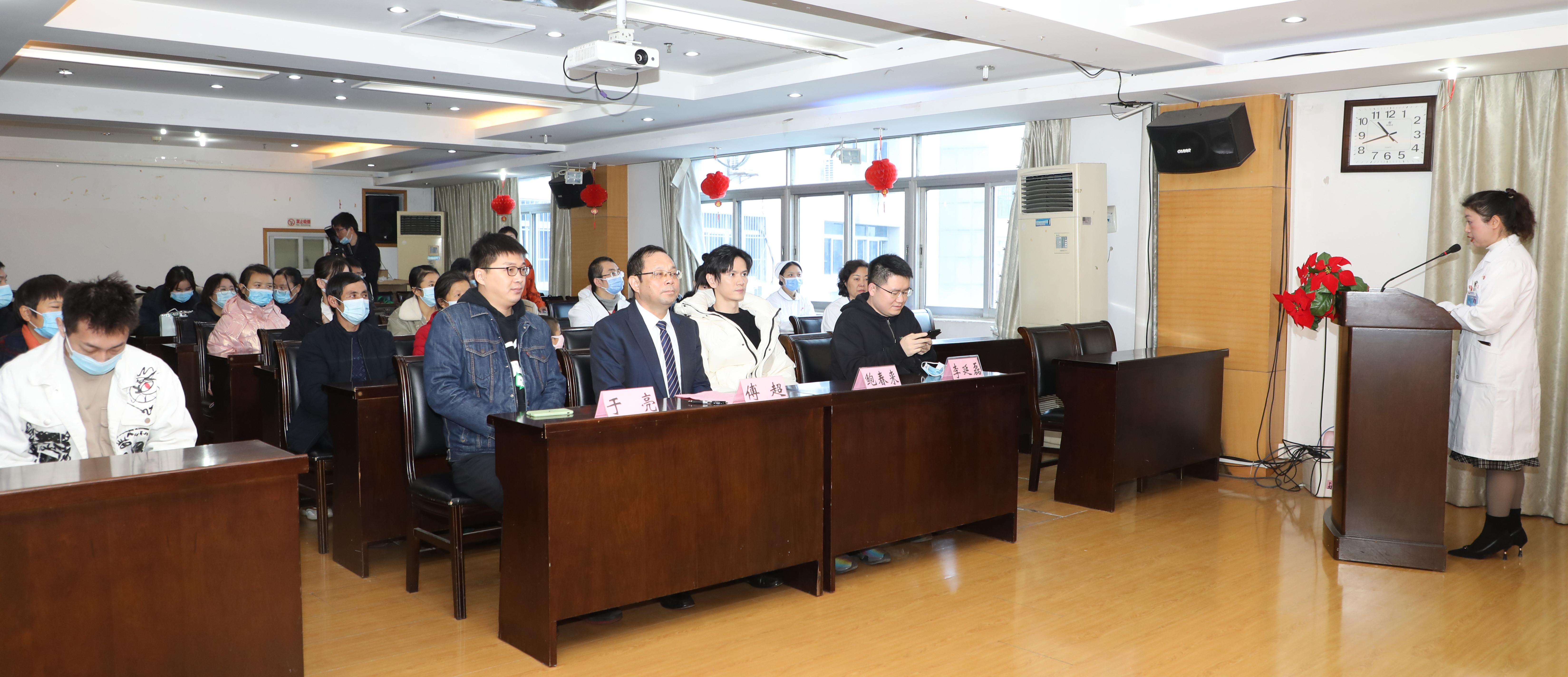 江西省儿童医院举办「因你而在,为爱而生——微爱 1+1」公益活动