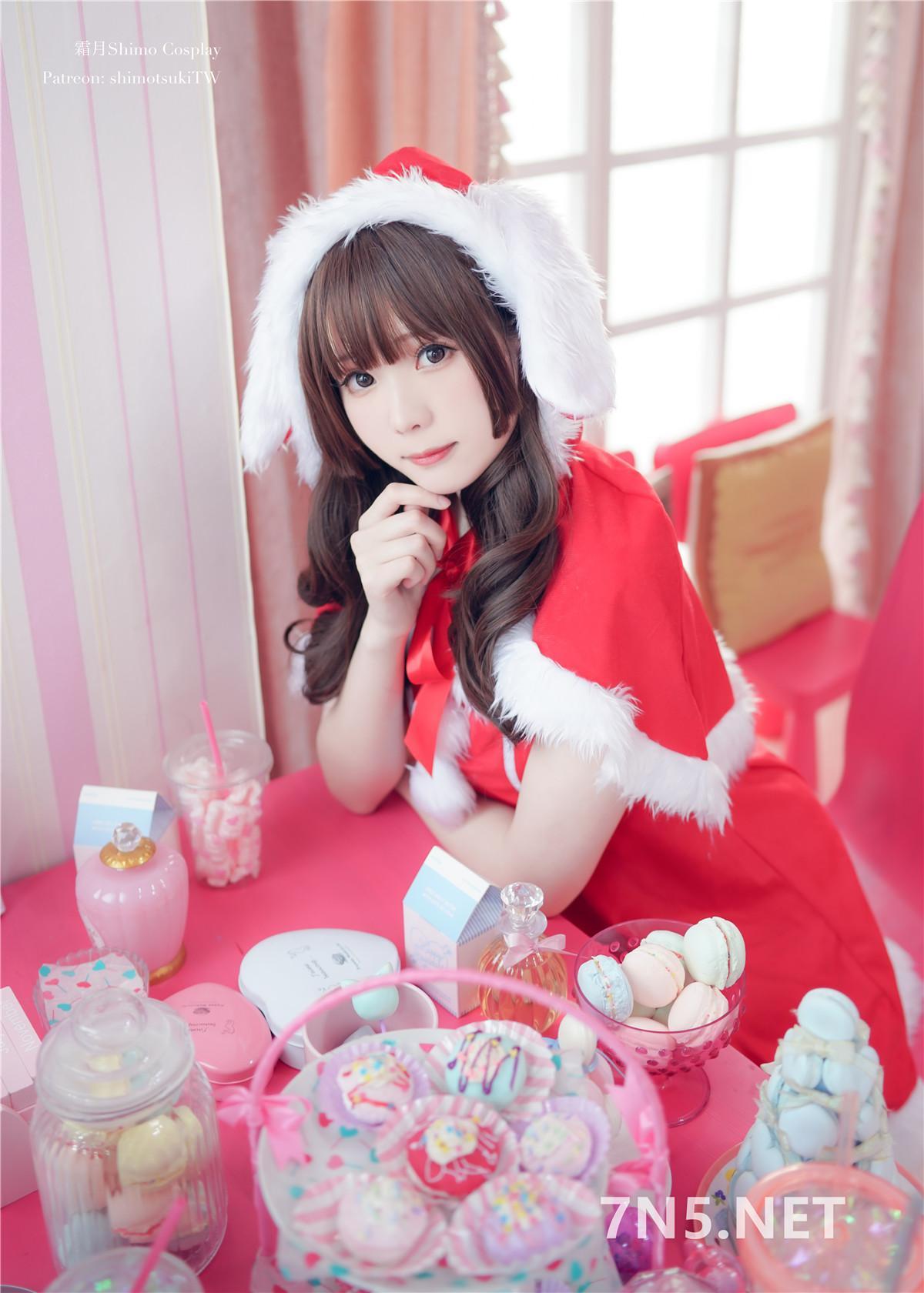 湾湾妹子@霜月Shimo – 圣诞兔COS[12P-126M]