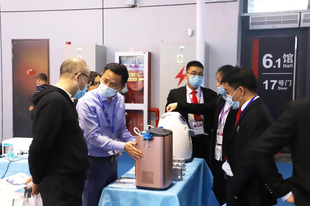 氢学大美·福耀中华 一一氢医学产品首次亮相CMEF2020全球医疗年度盛会(图7)