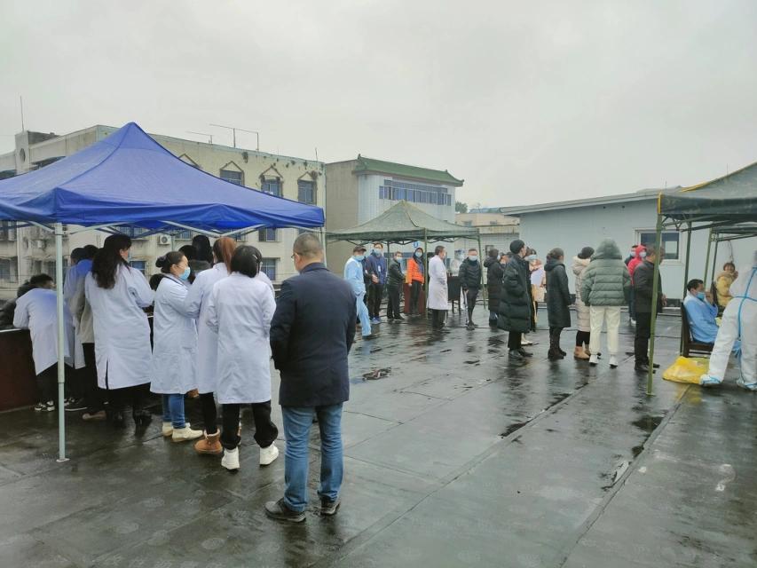 「外防输入,内防反弹」——眉山市中医医院开展全院职工核酸检测