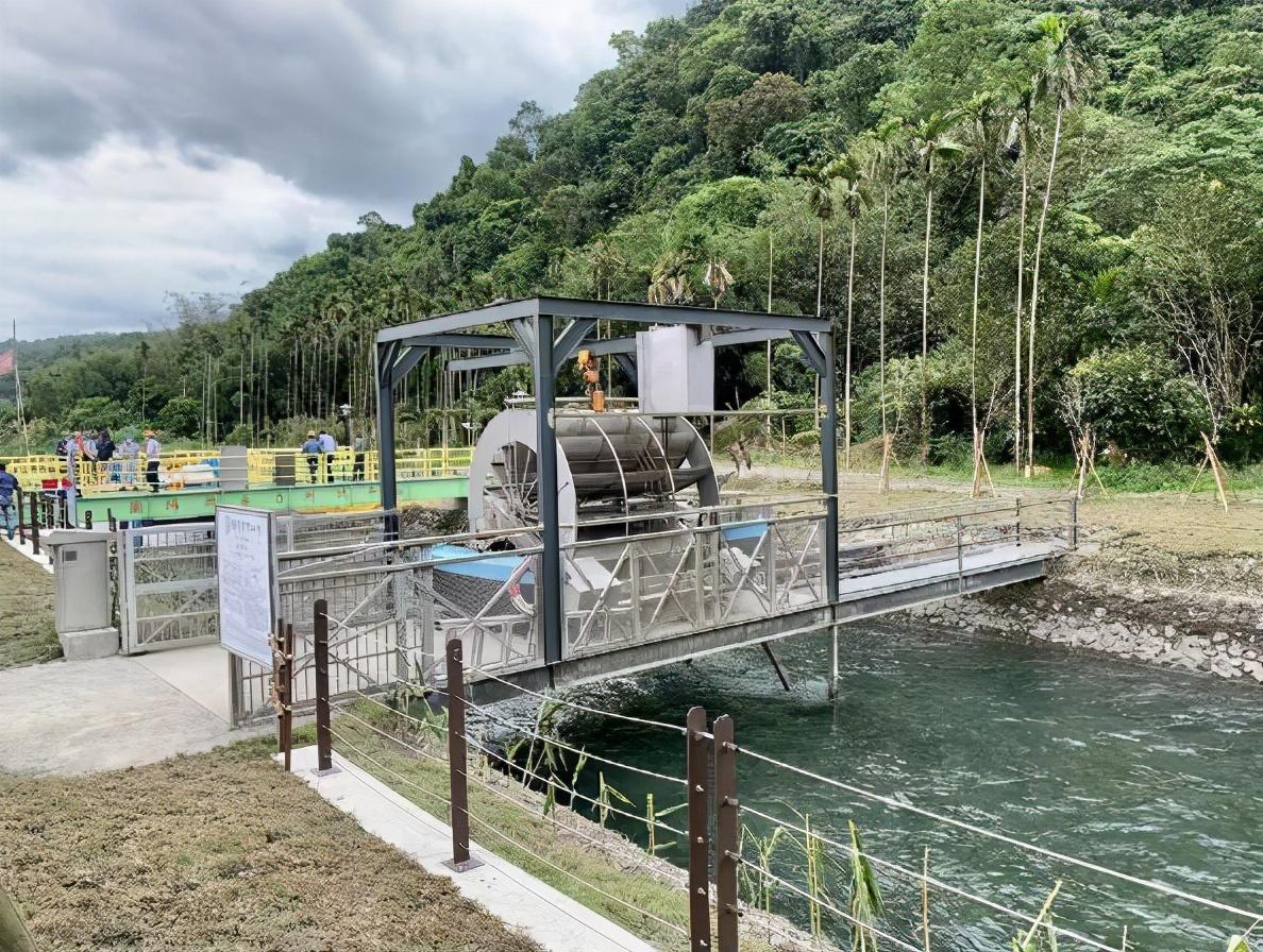 放大每一滴水资源能量!台电兰阳电厂打造首座微水力发电测试平台