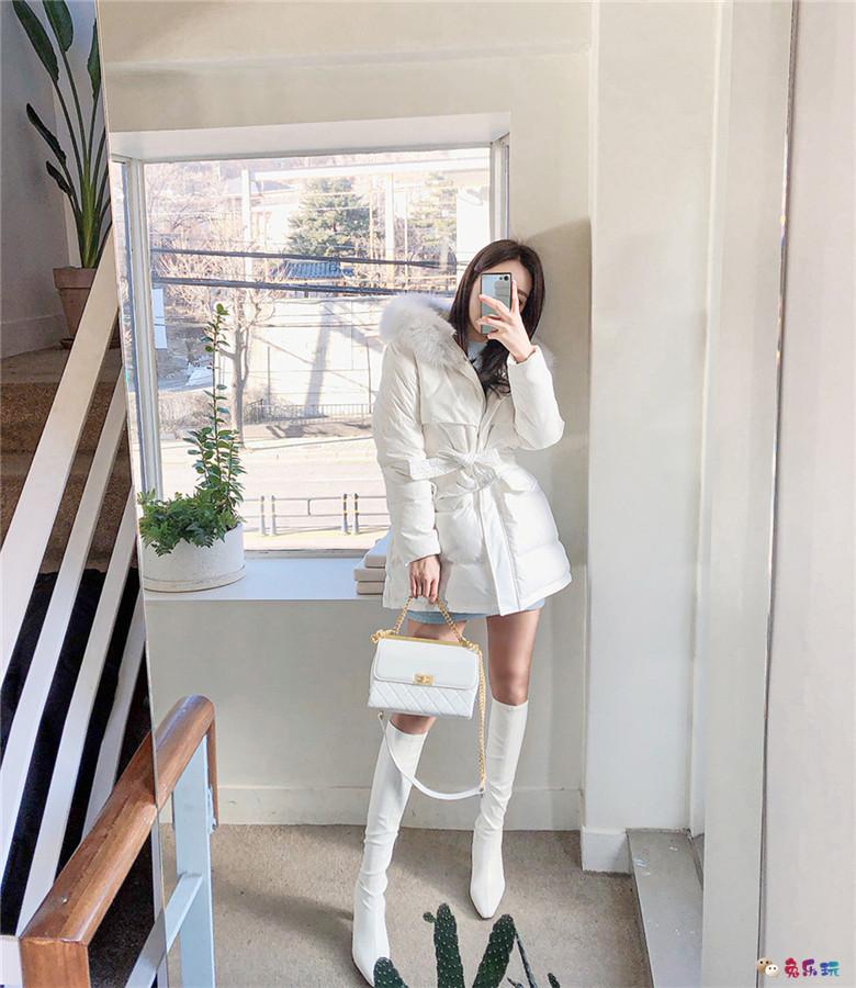 孙允珠丨巴黎油画田园湖泊文艺少女裙