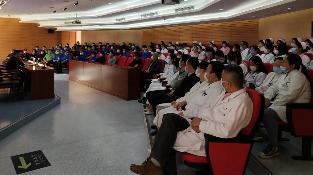 上海市第二康复医院举行 11·9 消防安全专项讲座