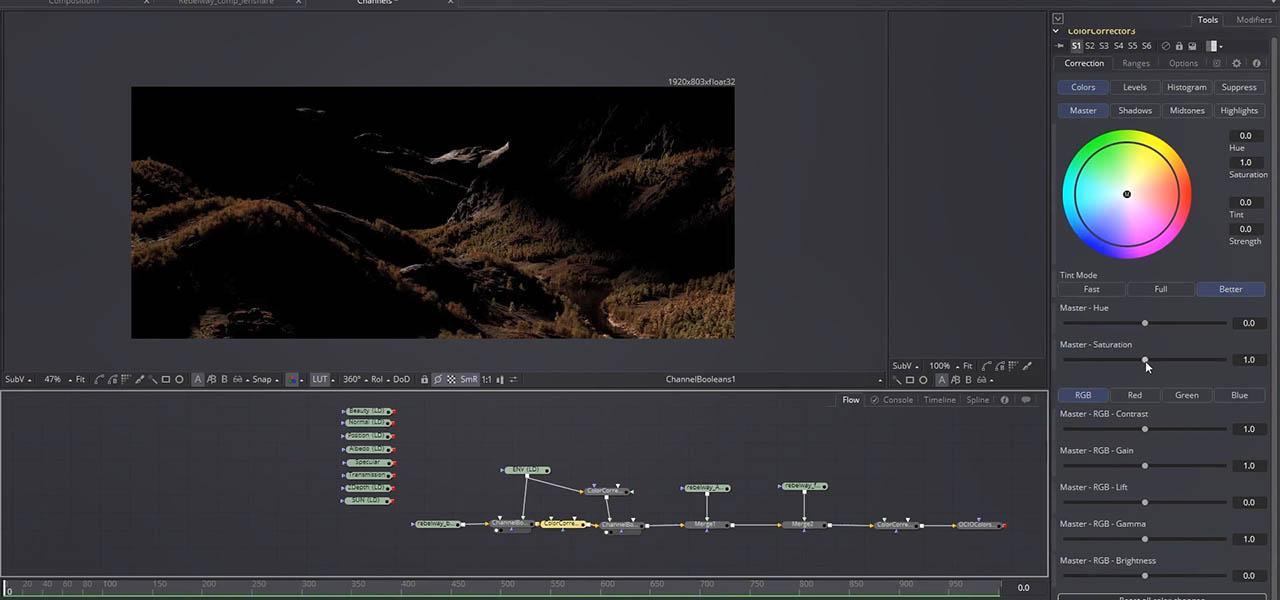 Rebelway Mastering Environment Creation In Houdini - Houdini自然场景环境制作教程