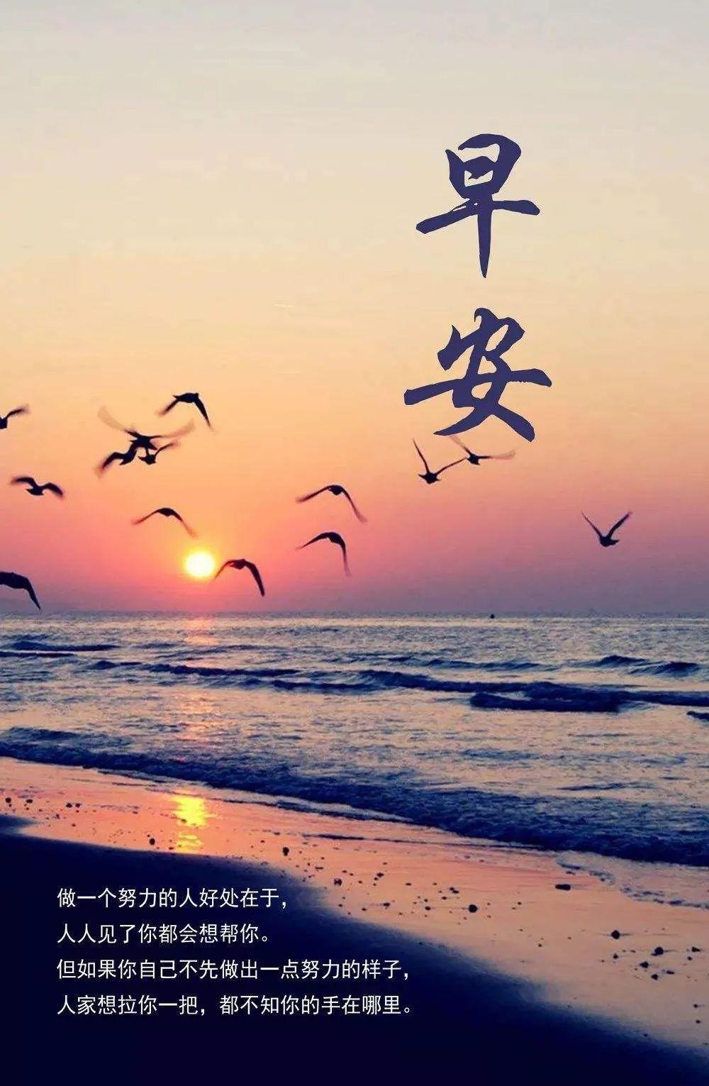简单阳光的早安句子带图片,激励人心!