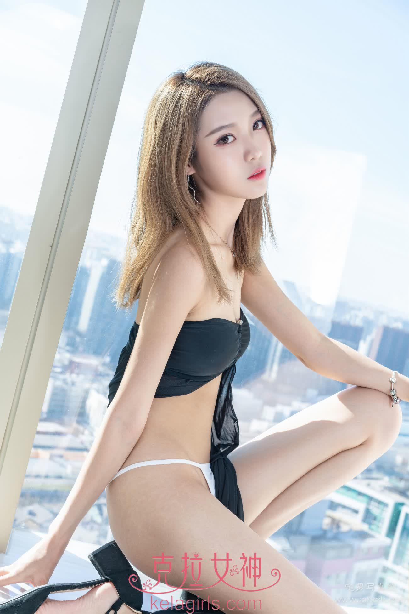 Kelagirls克拉女神 2019.11.11 热辣の黑裙 周迪