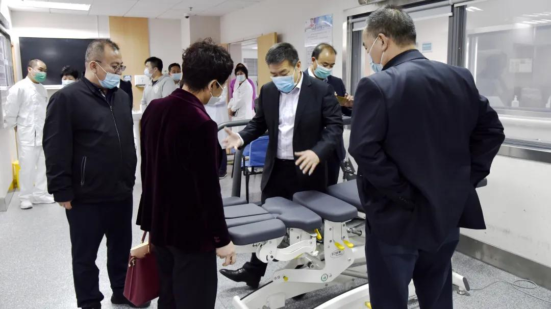 宁夏回族自治区总工会一行前往上海市第二康复医院调研指导