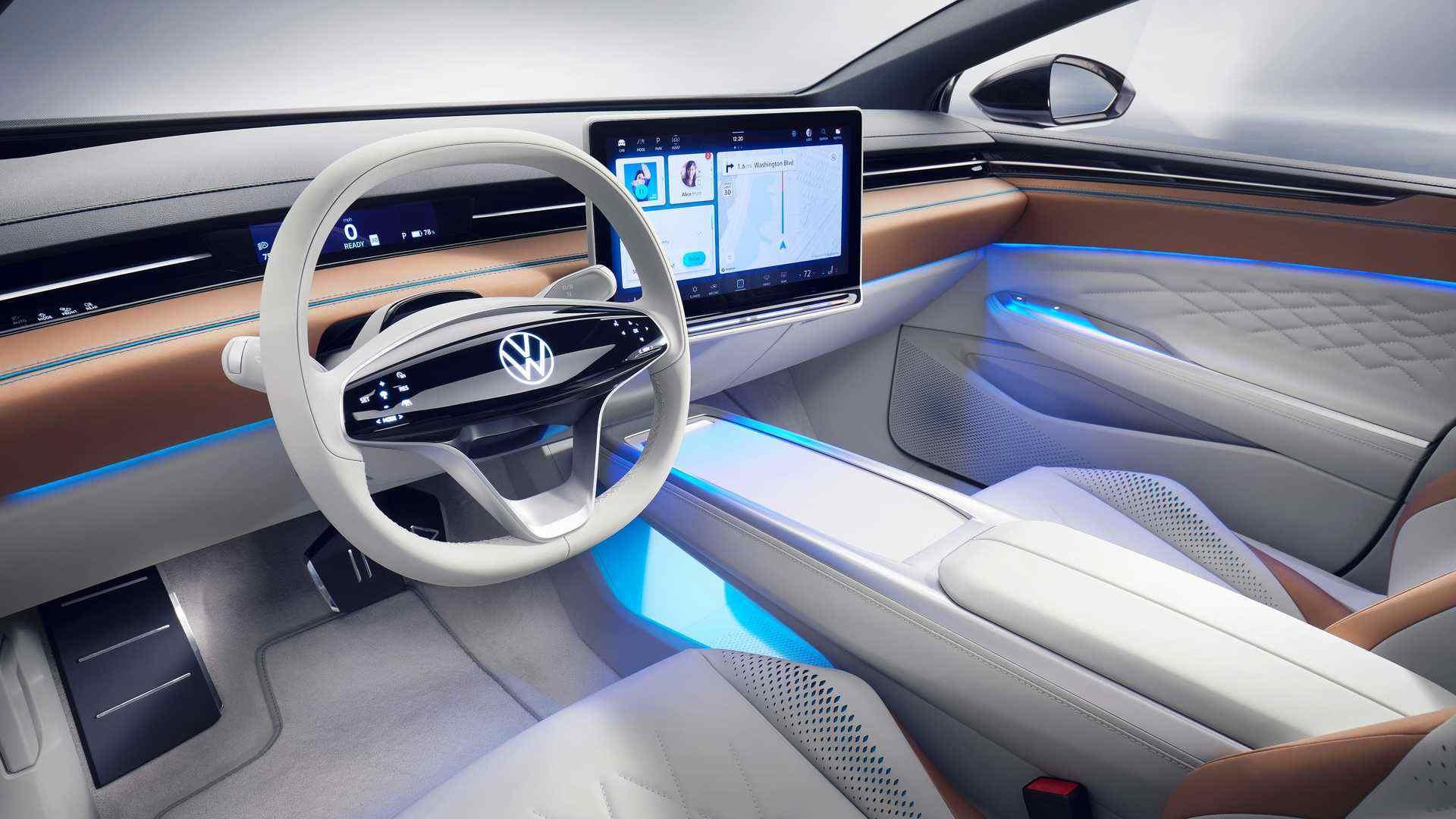 续航超700km,大众全新猎装版概念车曝光,2023年量产