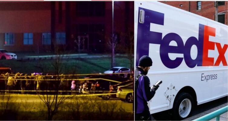 美联邦快递厂爆枪击案酿成9死