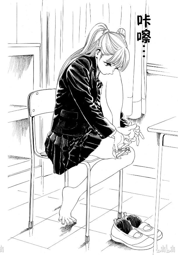 《明日酱的水手服》本格派幼女漫!少女怎会如此美好!